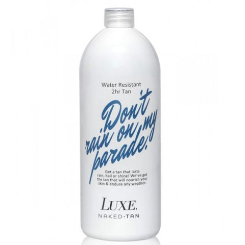 Naked Tan Luxe Don't Rain On My Parade 2 Hour 1 Litre