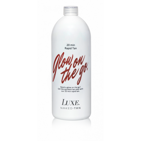 Naked Tan Luxe Glow On The Go 20 min 1 Litre