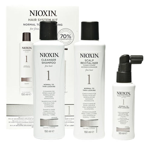 Nioxin No.1 Normal to Thin-Looking 150 ml Kit