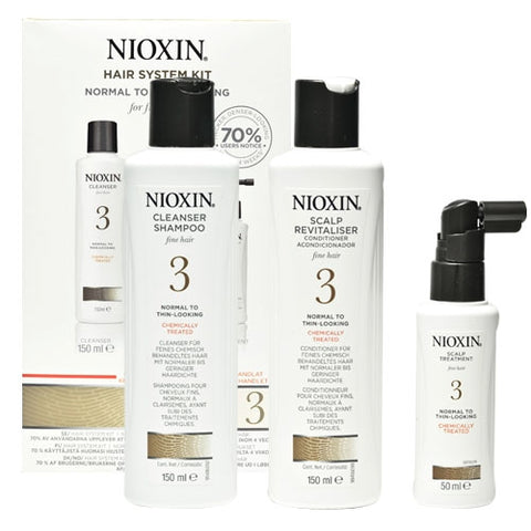 Nioxin No.3 Normal to Thin-Looking 150 ml Kit