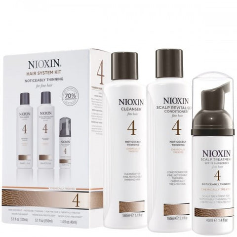 Nioxin No.4 Noticeably Thinning 150 ml Kit