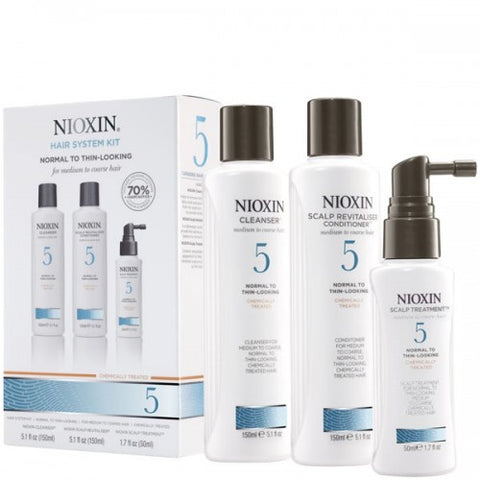 Nioxin No.5 Normal to Thin-Looking 150 ml Kit