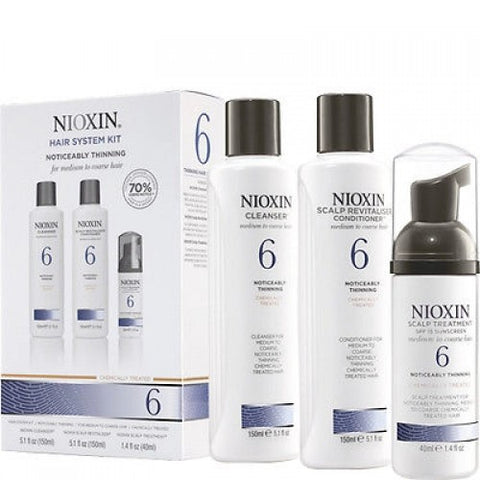 Nioxin No.6 Noticeably Thinning 150 ml Kit