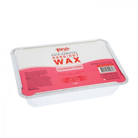 Reva Strawberry Creme Hard Wax 1 kg