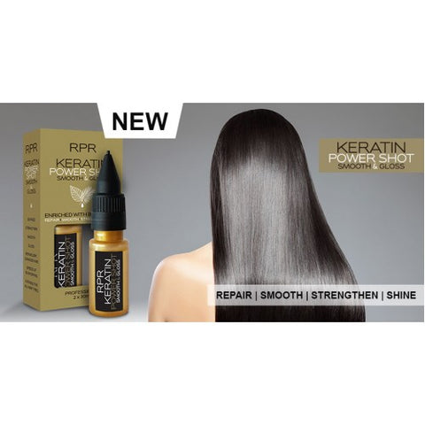 RPR Keratin Power Shot Smooth and Gloss 2 x 30ml