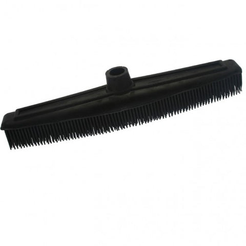 Rubber Broom Black