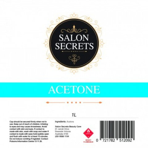 Salon Secrets Acetone 1 Litre