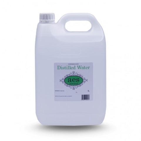 Salon Secrets Distilled Water 5 Litre