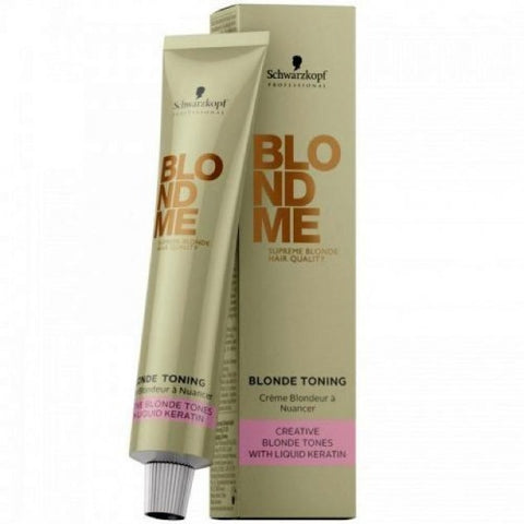 Schwarzkopf Blond Me Toning Steel Blue 60 gm