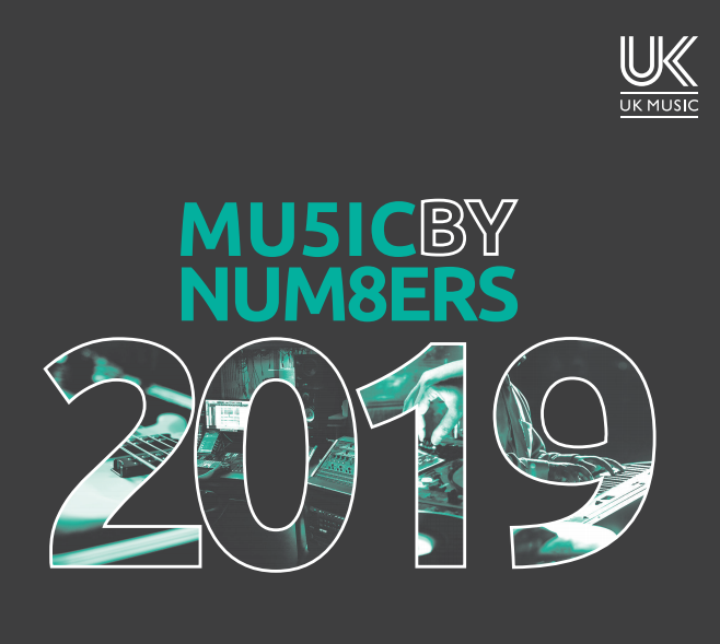 "UK Music Publishes 2019 Report ""Music By Numbers"""