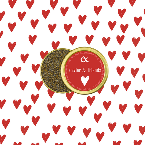Love Edition: Ossetra Caviar