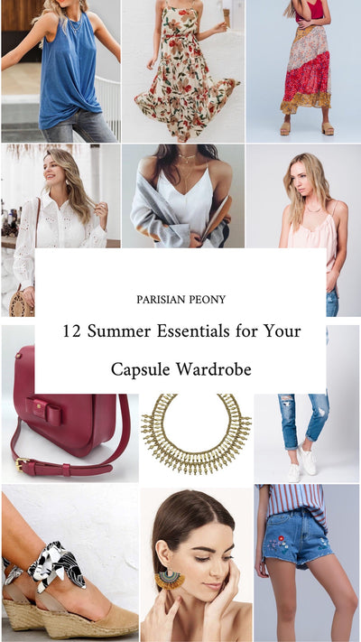 12 Summer Capsule Wardrobe Essentials