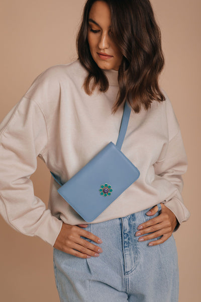 blue sky belt bag bynes new york