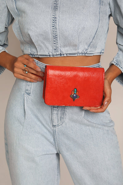 red beltbag bynes new york