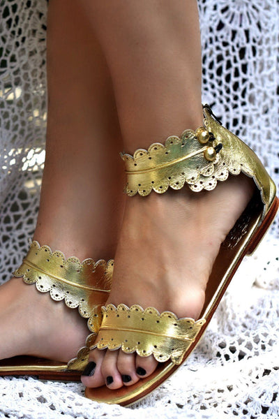 Leather Shoes - Midsummer Sandals?id=4867352297508