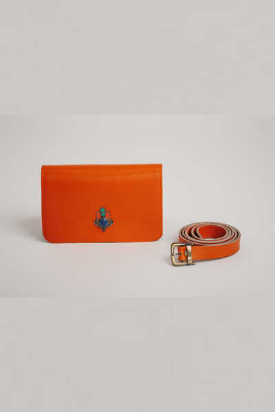 orange beltbag bynes new york