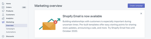 Shopify Email Requirements