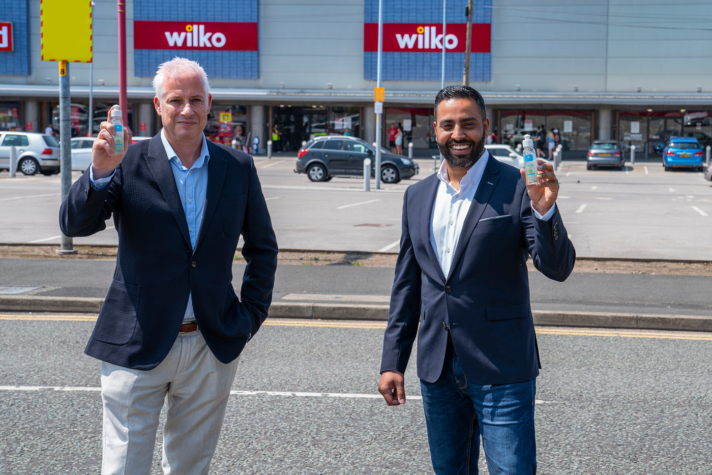 NEW UK PPE BRAND SANDITIZE, LAUNCHES  WITH WILKO TO PUT 1 MILLION BOTTLES IN HANDS OF CONSUMERS