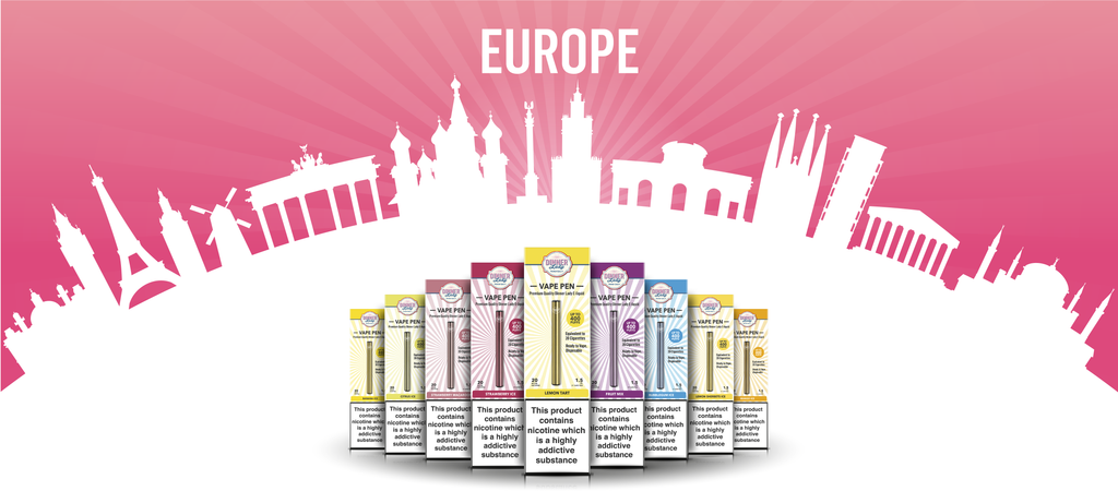 Vape Dinner Lady Travelling with E-Liquids in the European Union