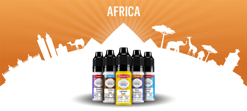 Vape Dinner Lady Travelling to Africa with E-Liquids