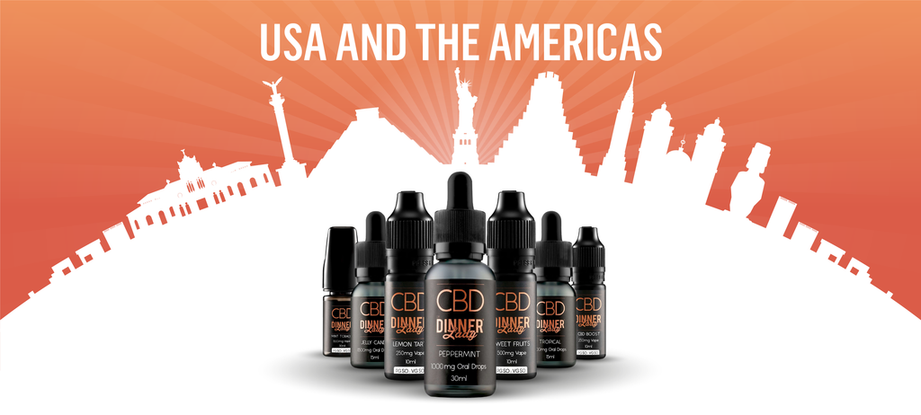 Vape Dinner Lady Travelling with E-Liquids In USA and the Americas