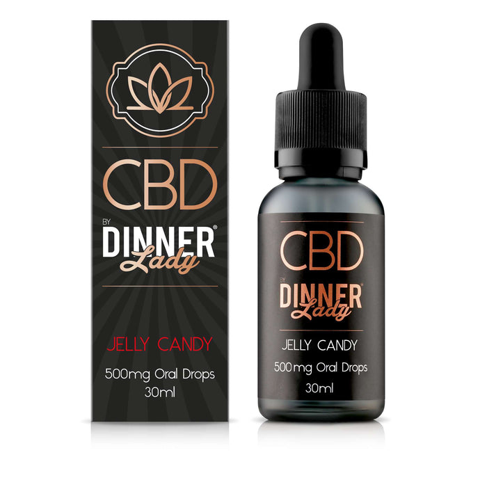 Dinner Lady CBD Jelly Candy oral drops / tinctures - 30ml - 500mg