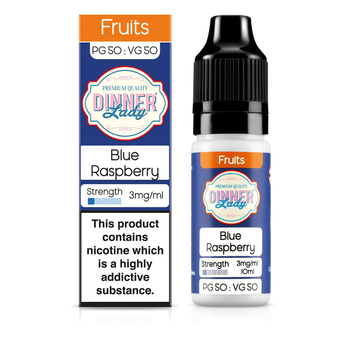Blue Raspberry 50:50 10ml E-Liquid