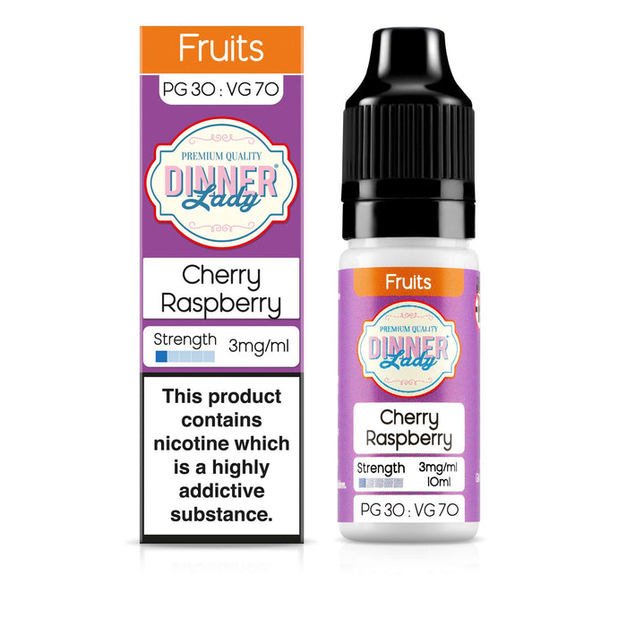 Cherry Raspberry 30:70 10ml E-Liquid
