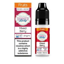 Load image into Gallery viewer, Mixed Berry 50:50 10ml E-Liquid