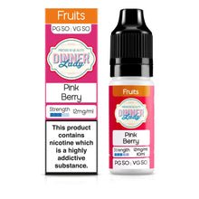 Load image into Gallery viewer, Pink Berry 50:50 10ml E-Liquid
