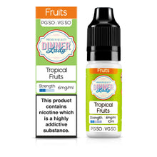 Load image into Gallery viewer, Tropical Fruits 50:50 10ml E-Liquid