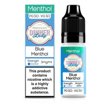 Load image into Gallery viewer, Blue Menthol 50:50 10ml E-Liquid
