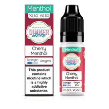 Load image into Gallery viewer, Cherry Menthol 50:50 10ml E-Liquid
