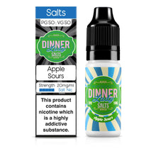 Load image into Gallery viewer, Apple Sours Nic Salts 50:50 10ml E-Liquid