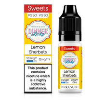 Load image into Gallery viewer, Lemon Sherbets 50:50 10ml E-Liquid