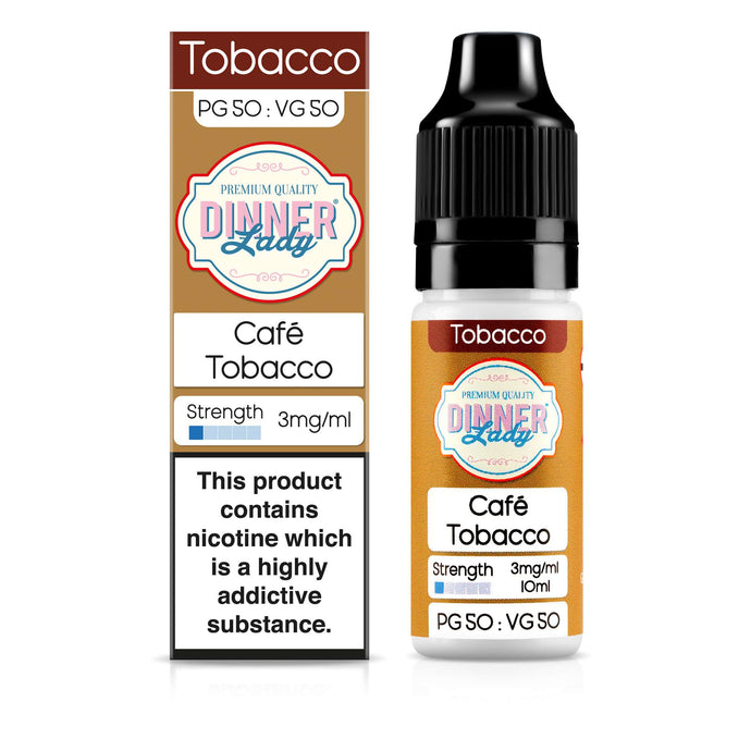 Café Tobacco 50:50 10ml E-Liquid