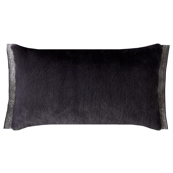 Emina Charcoal Polyester Filled Cushion