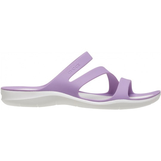 crocs swiftwater sandal orchid dames