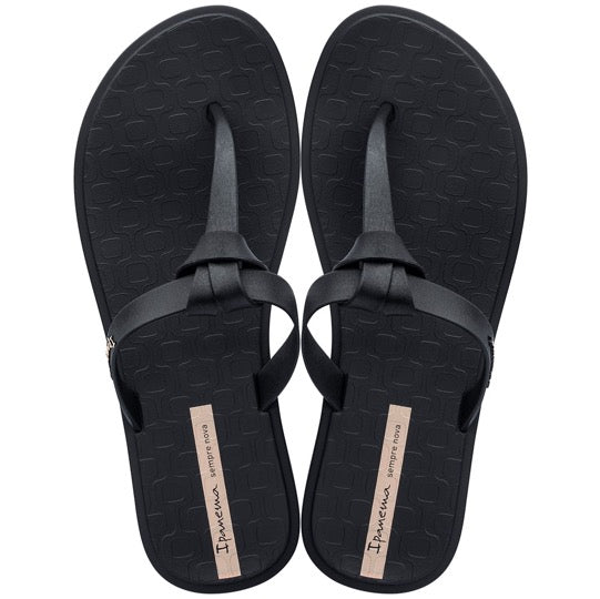 Ipanema Nó Zwart dames slippers