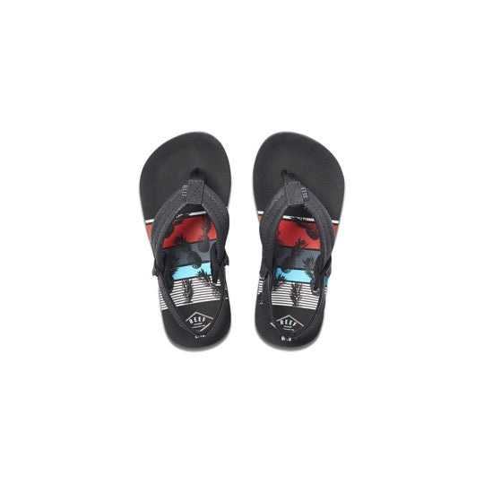 reef little ahi pineapple jongens slippers