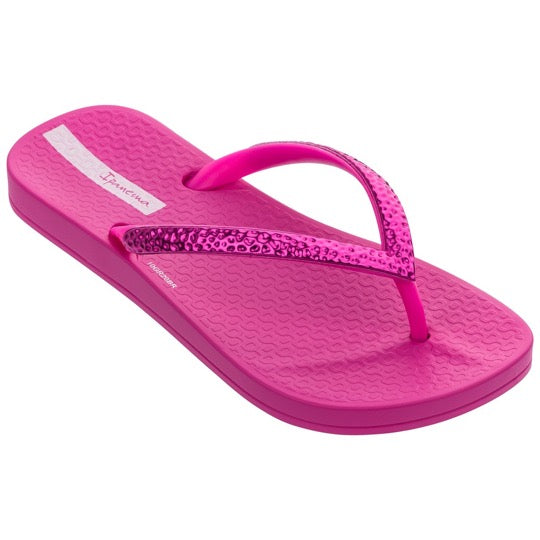 ipanema anatomic mesh kids pink slippers