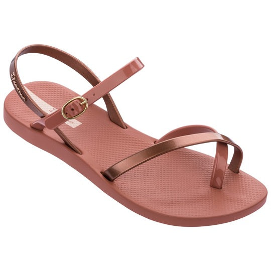 ipanema fashion sandal pink copper dames sandaal