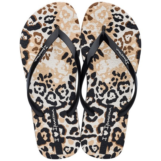 ipanema i love safarie beige dames slippers