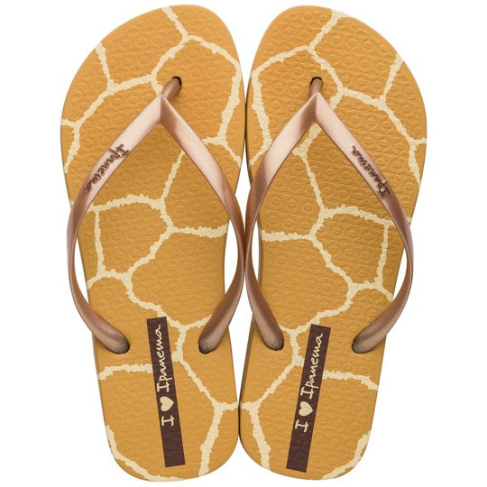 ipanema i love safari caramel goud