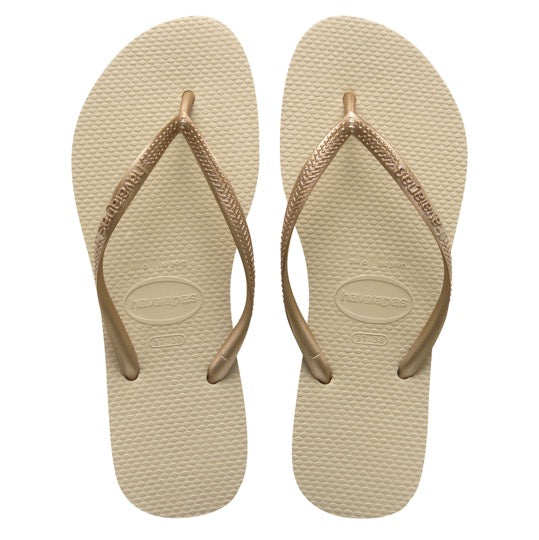 Havaianas Slim Kids sad grey light golden