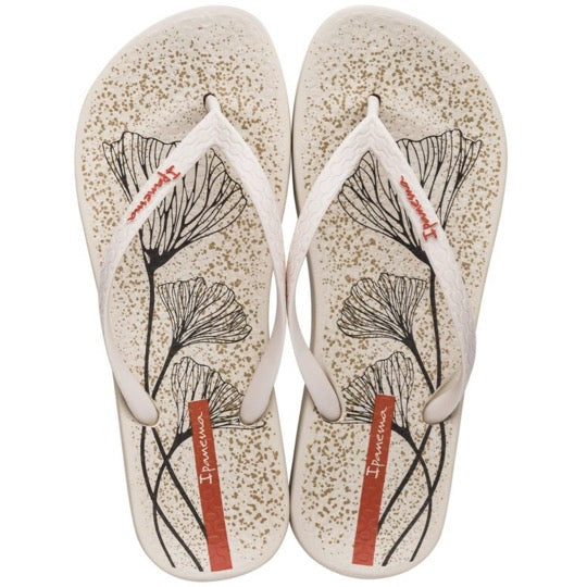 ipanema anatomic temas beige dames teenslippers