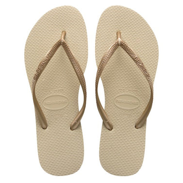 havaianas slim sand grey light golden dames slippers