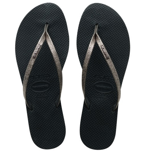 havaianas you shine new grahite dames slippers