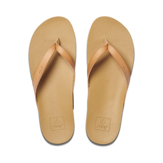Reef Cushion bounce court natural dames slippers