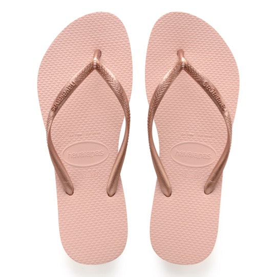 havaianas slim ballet rose dames slippers
